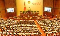 Eröffnung der 8. Parlamentssitzung