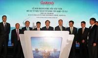 Erste Erdölmenge aus den Projekten Su Tu Nau und Su Tu Vang Tay Nam