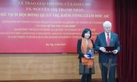 Erste vietnamesische Wissenschaftlerin von russischer IASS-Akademie geehrt