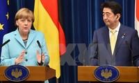 Bundeskanzlerin Angela Merkel zu Gast in Japan