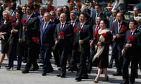 Staats- und Regierungschefs der Länder weltweit beglückwünschen Russland zum Sieg gegen Faschismus