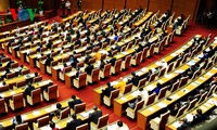 Die Eröffnung der Parlamentssitzung
