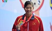 Die herausragende Schwimmerin Nguyen Thi Anh Vien