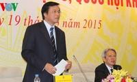 Pressekonferenz über das Ergebniss der Parlamentssitzung