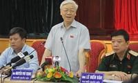 Hanoier-Wähler: Der USA-Besuch des KPV-Generalsekretärs Nguyen Phu Trong erhöht die Position Vietnam