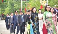 VOV-Delegation besucht das Ho Chi Minh-Mausoleum