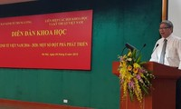 Das Wissenschaftsseminar über die Wirtschaft Vietnams
