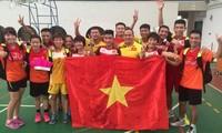 Vietnam steht an der ersten Stelle bei der Weltfederfußball-Meisterschaft