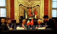 Die Zusammenarbeit zwischen den Großstädten von Vietnam und Italien