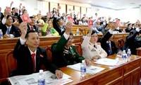 Eröffnung der Parteisitzung der Städte Can Tho und Bac Ninh