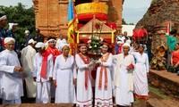Die Cham-Minderheit in der Provinz Ninh Thuan feiert Kate-Fest