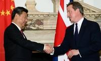 Chinesischer Staatschef führt Gespräch mit britischem Premierminister