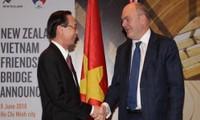 Neuseeland will die Kooperation mit Vietnam in vielen Bereichen verstärken