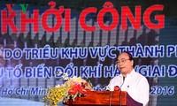 Start des Projekts gegen Hochwasser durch die Gezeiten in Ho Chi Minh Stadt