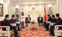 Verstärkung der Zusammenarbeit zwischen Vietnam und Südkorea