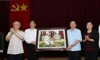 KPV-Generalsekretär Nguyen Phu Trong besucht die Provinz Lai Chau
