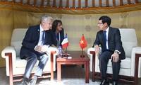 ASEM: die bilateralen Gespräche des Vize-Premierministers Pham Binh Minh