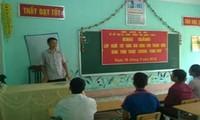 Ha Giang setzt Politik zur Bildungsförderung für Familien der gefallenen Soldaten und Kriegsversehrt