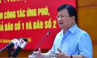 Regierung fordert, aktiver bei Wetterdienst und Katastrophenschutz zu sein