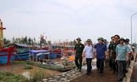 Die Vorbereitungen auf den Taifun Dianmu in einigen Provinzen in Vietnam laufen auf Hochtouren