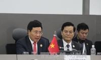 Vizepremierminister Pham Binh Minh trifft hochrangige Politiker der NAM-Staaten