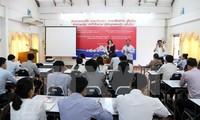 Vietnam und Laos verstärken die Kooperation in der Presse