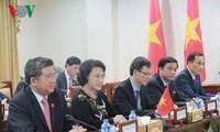 Parlamentspräsidentin Nguyen Thi Kim Ngan beendet ihre Dienstreise in einigen ASEAN-Ländern