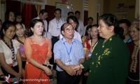 Vize-Parlamentspräsidentin Tong Thi Phong besucht die Provinz Nghe An