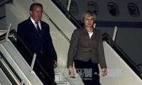 Britische Premierministerin Theresa May besucht Indien
