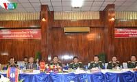 General Ngo Xuan Lich nimmt an der ASEAN-Verteidigungsminister-Konferenz in Laos teil