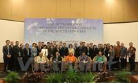 Indonesien: Seminar über das Konfliktmanagement im Ostmeer