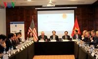Staatspräsident Trai Dai Quang empfängt Vertreter der Union der US-Unternehmen auf APEC