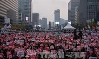 Politischer Skandal in Südkorea: weitere Demonstrationen gegen Präsidentin Park Geun-hye