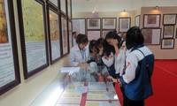 Ausstellung der Landkarten und Dokumente über Hoang Sa- und Truong Sa-Inselgruppen