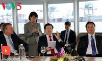 Vietnam und Niederlande kooperieren in der Forschung im Bereich Wasser und Bau von Häfen