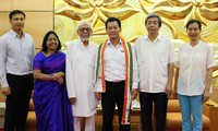 Parlamentspräsidentin Nguyen Thi Kim Ngan empfängt den Vorsitzenden der Freundschaftsgesellschaft