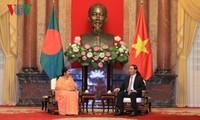 Staatspräsident Tran Dai Quang empfängt die bangladeschische Parlamentspräsidentin