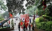 Tempel-Fest: Gebet zum Gedenken der Hung-Könige in der Provinz Phu Tho