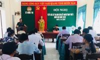 Treffen der Wähler in der Provinz Thua Thien Hue