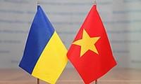 Memperkokoh dan mengembangkan hubungan kemitraan komprehensif Vietnam-Ukraina
