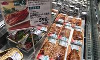 Poissons Tra du Vietnam présents dans les hypermarchés japonais AEON