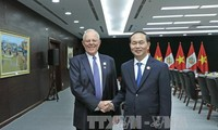 APEC 2017: Tran Dai Quang s'entretient avec des dirigeants d'autres économies membres