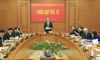 Tran Dai Quang à une réunion de la Direction centrale de la réforme judiciaire