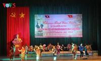Célébration de la fête Bunpimay aux élèves du Laos à Son La