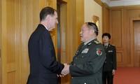 จีนและสหรัฐส่งเสริมการพัฒนาความสัมพันธ์ทางทหาร