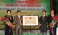 ทุ่งนาขั้นบันได Hoàng Su Phì ได้รับการรับรองเป็นเขตโบราณสถานแห่งชาติ