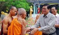 ฉลองเทศกาลปีใหม่ Chol Chnam Thmay ของชนเผ่าเขมร
