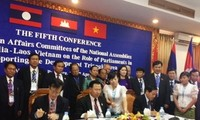 เวียดนาม ลาวและกัมพูชาร่วมมือเพื่อพัฒนาเขตสามเหลี่ยมพัฒนา