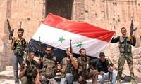 กองทัพรัฐบาลซีเรียสามารถฟื้นฟูความมั่นคงในตัวเมืองของ 13 อำเภอแล้ว