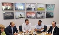 การประชุมสุดยอดจี8 ไม่สามารถบรรลุความคืบหน้าใดๆในการแก้ไขวิกฤติในซีเรีย